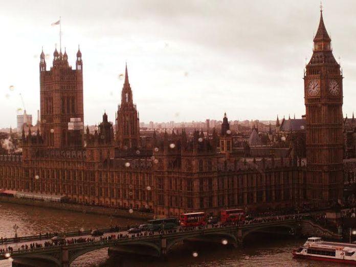 Foto da Big Ben em Londres