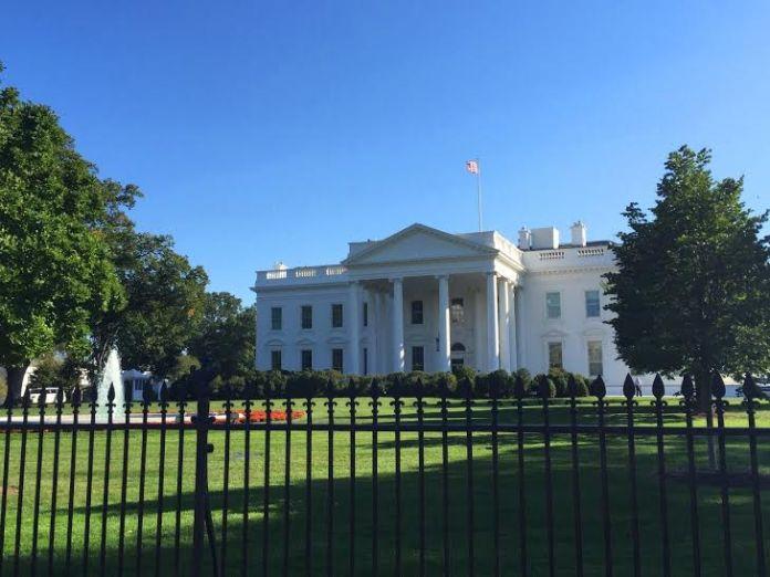 Foto da Casa Branca em Washingon