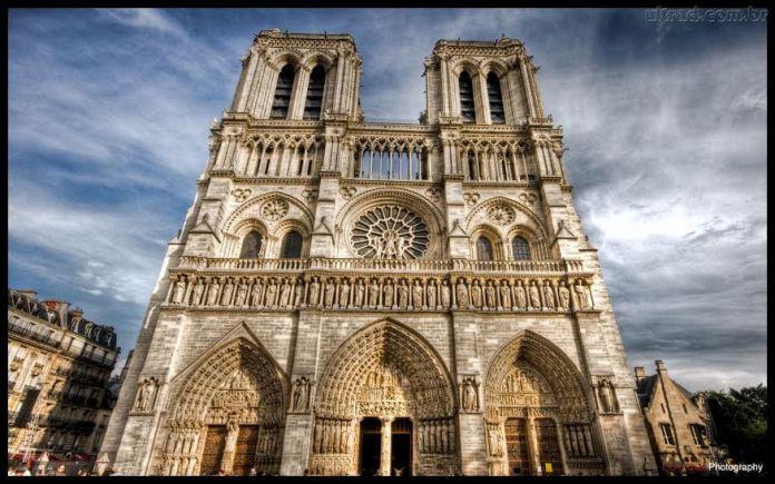 Foto da Notre Dame Paris