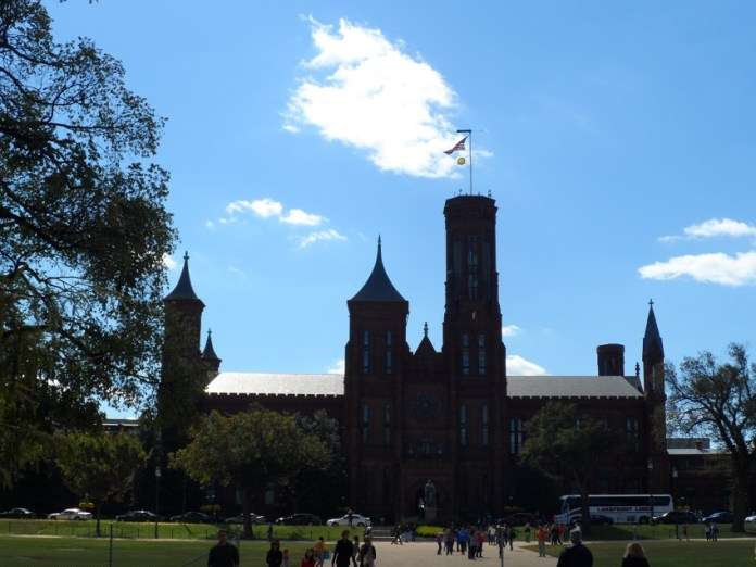 Foto da Sede do Smithsonian Institution em Washington