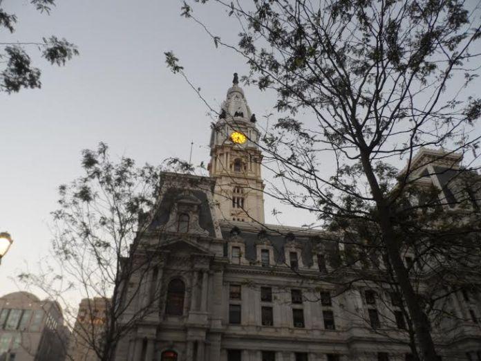 Foto do City Hall em Philadelphia