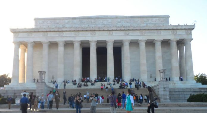 Foto do Lincoln Memorial em Washington