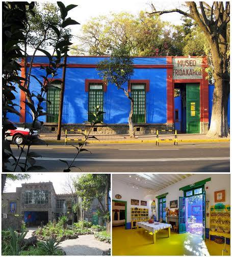 Museu Frida Kahlo na cidade do México
