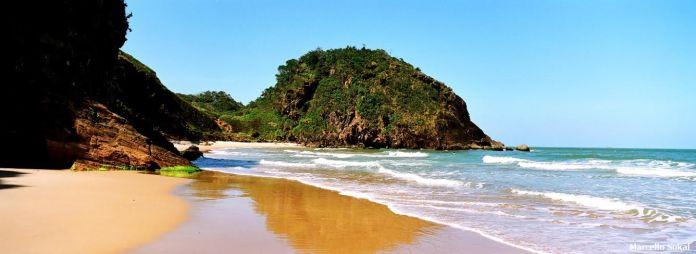 Praia Brava em Itajaí