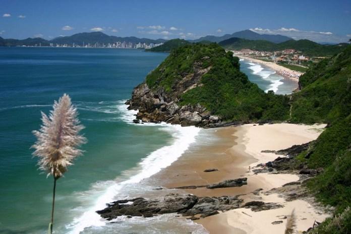 Praia dos amores em Itajaí