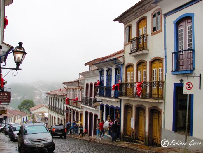 Rua Conde de Bobadela em Ouro Preto