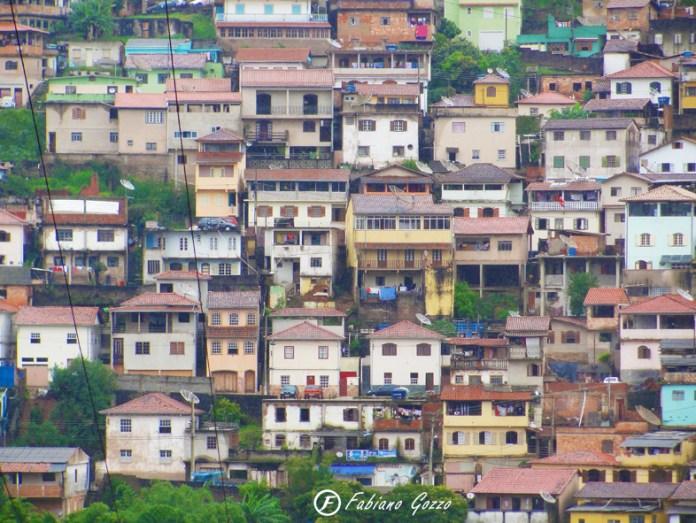 Um dos bairros de Ouro Preto