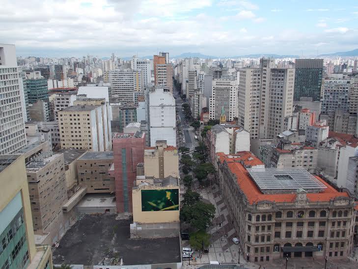 Vista Panorâmica de São Paulo do Edifício Martinelli