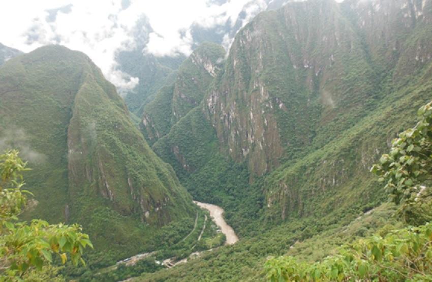 Chegada da Trilha Inca