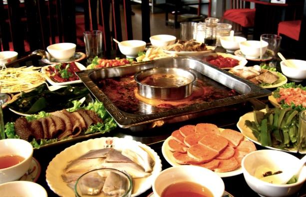 Gastronomia durante o frio em Shanghai