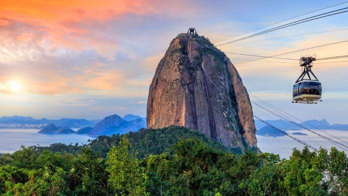 Pão de Açúcar e teleférico, Rio de Janeiro