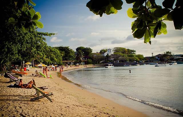 praia dos ossos é uma das melhores praias de Búzios