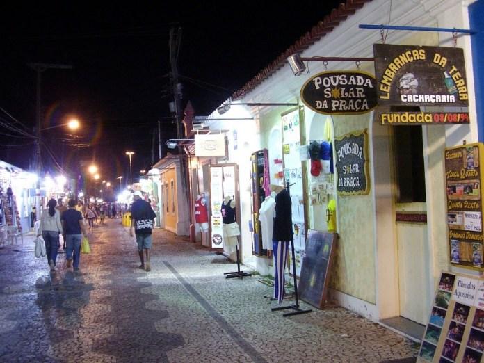 Passarela do Álcool em Porto Seguro