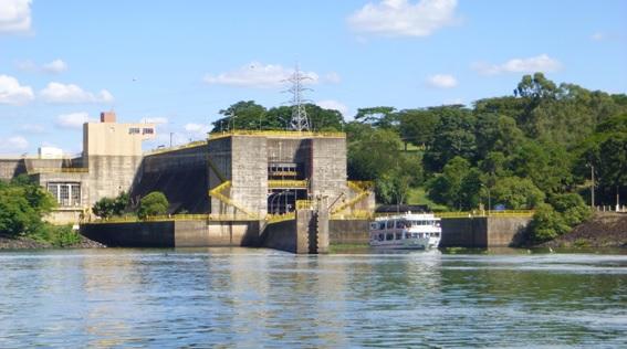 Eclusa, atração turística em Barra Bonita