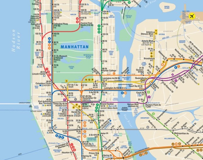 Linhas de metrô de Nova York