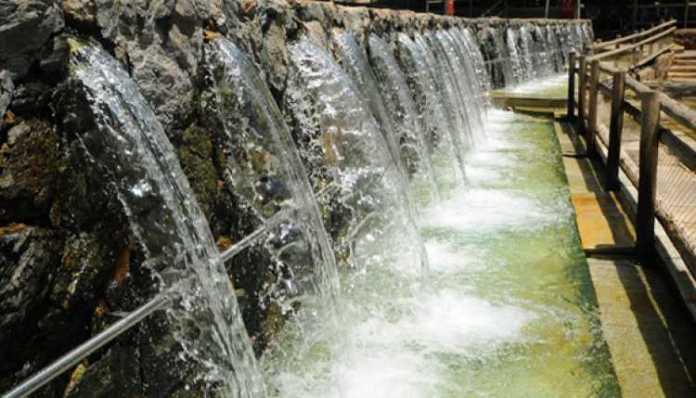 Águas quentes de Caldas Novas