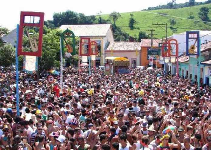 Foto do carnaval em São Luiz do Paraitinga