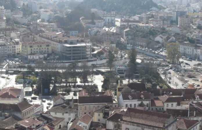 Foto da Cidade de Leiria em Portugal