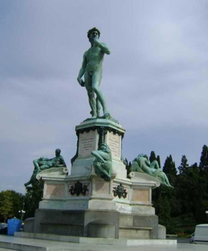 Foto do Piazzalle Michelangelo, em Florença