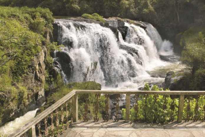 Foto da Cachoeira Véu das Noivas em Poços de Caldas