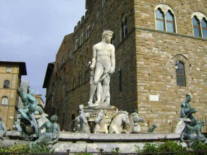 Piazza dela Signoria, em Florença