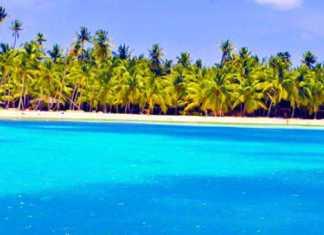 Foto de uma praia em Punta Cana