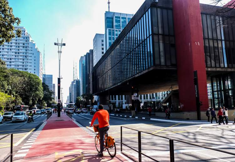 Avenida Paulista em São Paulo – SP