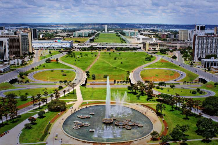 Eixo Monumental em Brasília – Distrito Federal