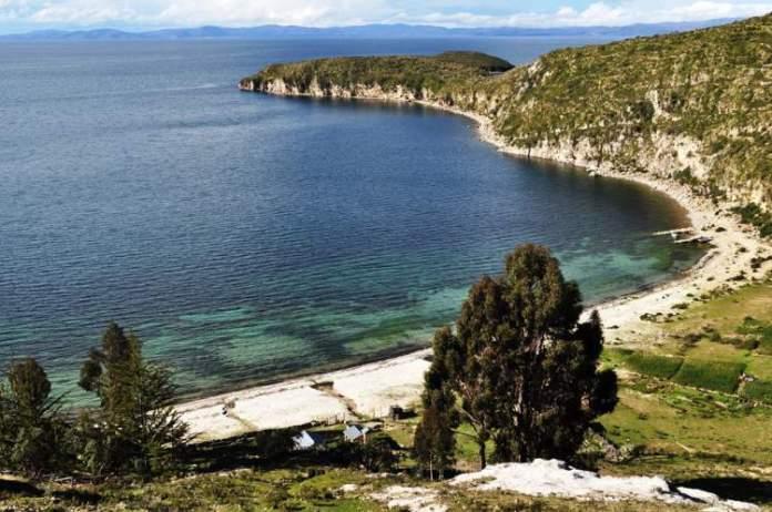 Isla del Sol, Ilha do Lago Tititcaca, Bolívia