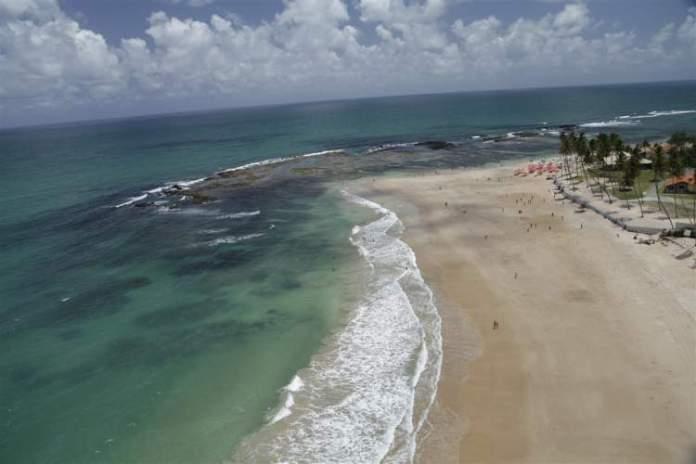 Praia de Camboa em Porto de Galinhas, Ipojuca, Pernambuco