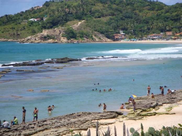 Praia de Gaibu em Cabo de Santo Agostinho é uma das melhores praias de Pernambuco