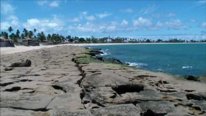 Praia de Serrambi em Ipojuca é uma das melhores praias de Pernambuco