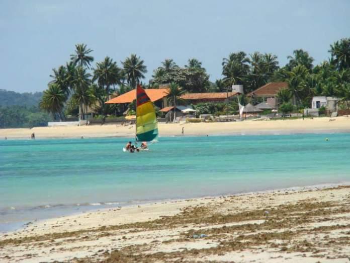 Praia de Tamandaré em Tamandaré é uma das melhores praias de Pernambuco
