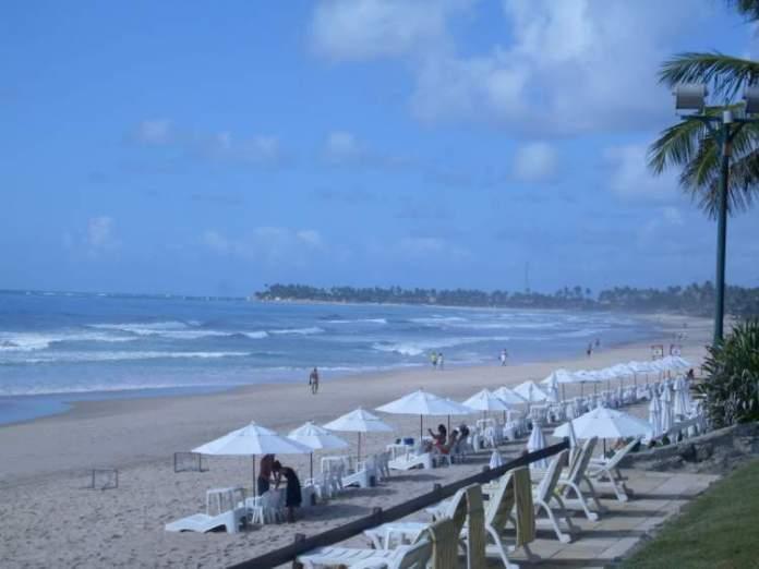 Praia do Cupe em Porto de Galinhas, Ipojuca, Pernambuco
