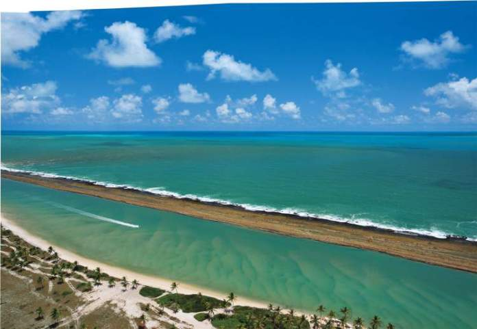 Praia de Muro Alto em Porto de Galinhas / Pernambuco