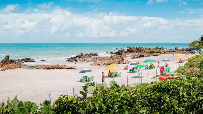 Praia de Tambaba, João Pessoa.