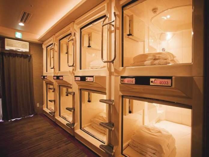 Capsule Inn Osaka é um dos hotéis inusitados ao redor do mundo