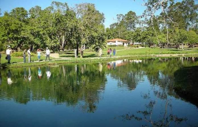 Lagoa de Pirapitinga em Caldas Novas