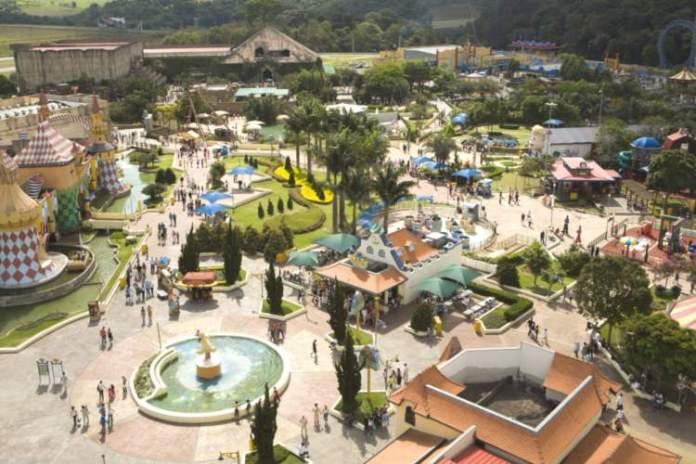 Parque Hopi Hari em São Paulo é um dos lugares mais divertidos para viajar com crianças