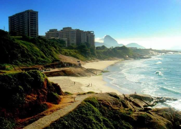 Arpoador no Rio de Janeiro é uma das praias mais bonitas do Brasil