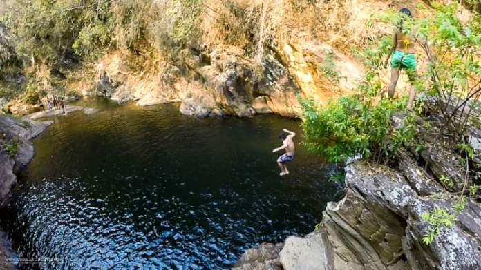 Cachoeira Santo Antônio em Raposos é um dos lugares para uma escapada de fim de semana saindo de Belo Horizonte