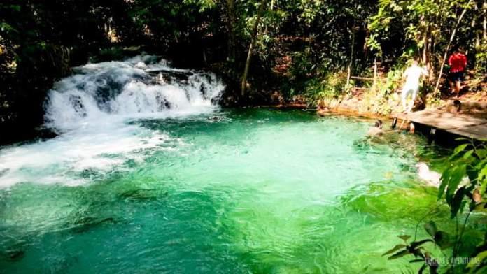 Cachoeira do Formiga é um dos destinos com águas absolutamente claras para você conhecer no Brasil
