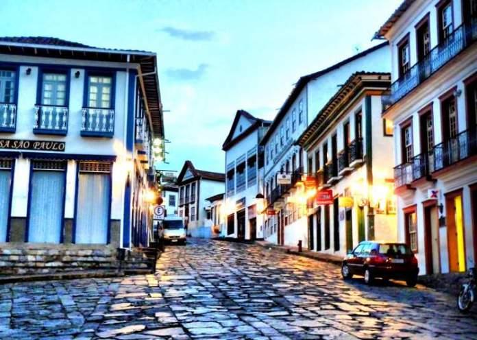 Diamantina é um dos lugares para uma escapada de fim de semana saindo de Belo Horizonte