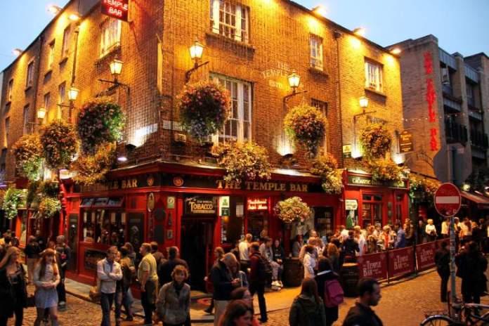 Dublin, Irlanda é um bom lugar para Viagem para solteiros