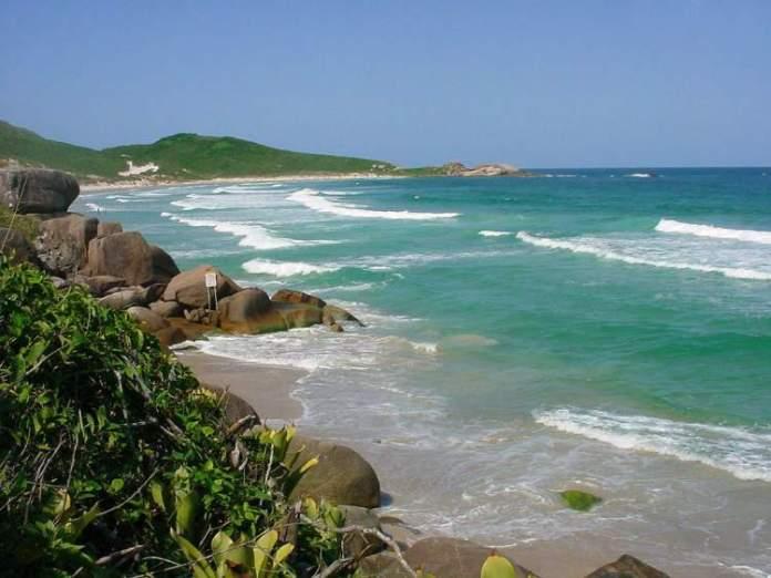 Galhetas em Florianópolis - Santa Catarina é uma das praias mais bonitas do Brasil