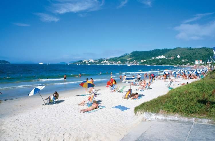 Jurerê Internacional em Florianópolis - Santa Catarina é uma das praias mais bonitas do Brasil