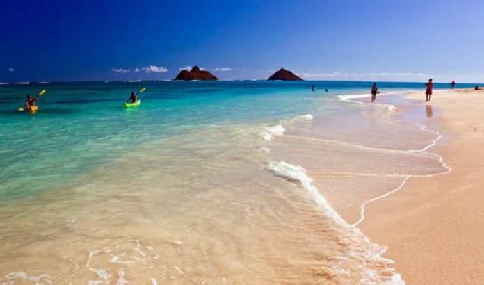 Kauliua, Oahu praias mais lindas do Havaí