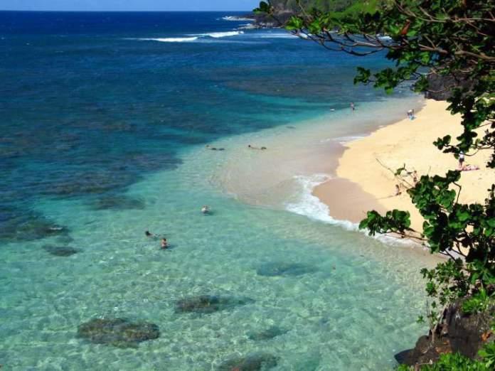 Ke'e Beach Park, Kauai praias mais lindas do Havaí