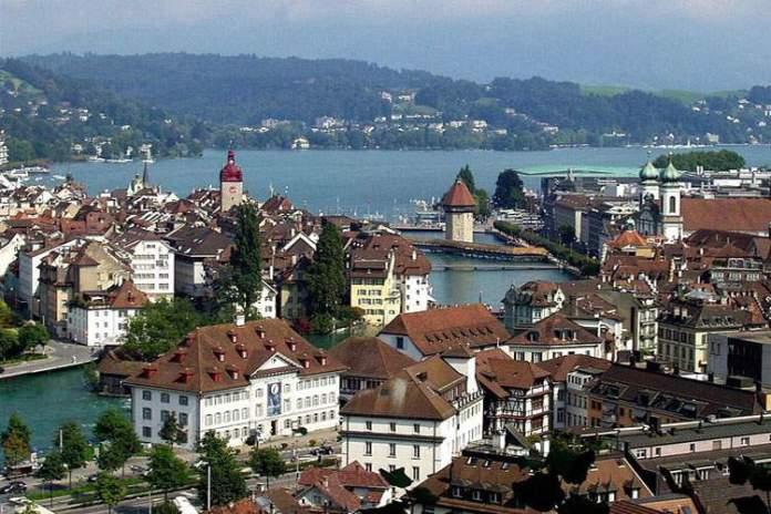 Lucerna na Suiça