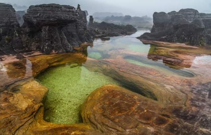 Piscinas Naturais Monte Roraima